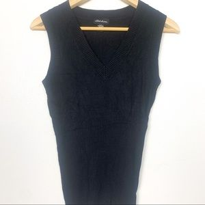 seduction sweater vest black size M